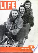 3 феб 1947