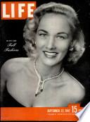 22 сеп 1947